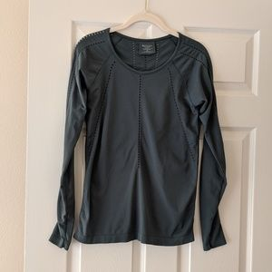 Athleta Long Sleeve Athletic Top, Size M